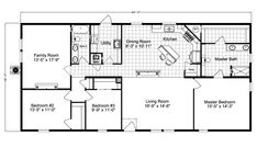 Barbados T3646T Home Floor Plan | Manufactured and/or Modular Floor Plans available floor plan