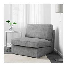 KIVIK One-seat section - Isunda gray - IKEA