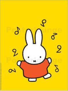 Miffy - little bunny Miffy, Cartoon Art, Wall Prints, Illustrations Posters, Cute Art, Childrens Books, Hello Kitty, Illustration Art, Childhood