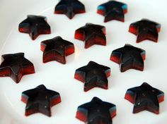Creative jello cups | The molds I used were silicone ice cube trays from The Dollar Tree. I ...
