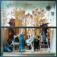 "ANTHROPOLOGIE, New York, ""Oooh, it's about that time!"", pinned by Ton van der Veer"