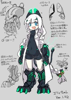 Female Character Design, Character Creation, Character Design References, Character Design Inspiration, Character Concept, Character Art, Robot Concept Art, Robot Art, Robots