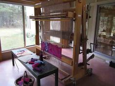 """From: """"A Weaverly Path"""" film about weaver Silvia Heyden by K Dalsheimer"""