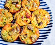 These frittatas are like mini crustless quiches, and are perfect for a picnic.