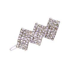 Elegance Clear Austrian Crystal Hair Clip