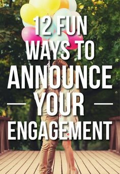 12 Fun Ways to Announce Your Engagement Engagement Announcement Quotes, Engagement Captions, Engagement Humor, Social Media Engagement, Engagement Pictures, Wedding Engagement, Engagement Ideas, Wedding Bands, Wedding Advice