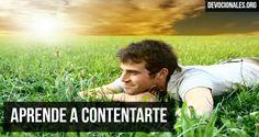 Aprende a Contentarte Según La Biblia † Cristianos