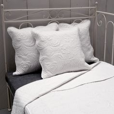 Mooie landelijke quilt bedsprei helder wit 140 x 220 cm - 8717459440524 - Avantius
