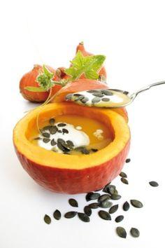 Zupa z dyni z mlekiem kokosowym - przepis
