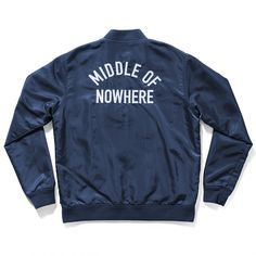 Middle of Nowhere Jacket Blue