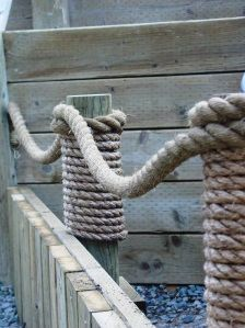 Nautical Rope for the garden | for the front yard walkway