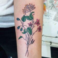 Tatto flower