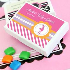 Going to Pop - Pink Personalized Gum Boxes