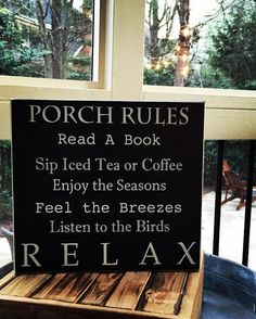 "There's nothing like enjoying a porch! The perfect hostess gift, Every porch needs one. Measures 12"" x 11""."