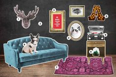 Signs you're living in a Hipster Apartment- Modern Hipsters Home Decor #homedecorhipster