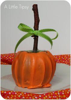 Carameled apple pumpkin