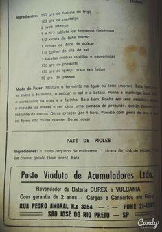 Livro de receitas da tia Ires