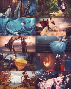Annie Leibovitz's Disney Dream Portrait Series. At first, I thought it said Disney Princess, not Disney Dream. That's good, because last I knew, Captain Jack Sparrow was a pirate.