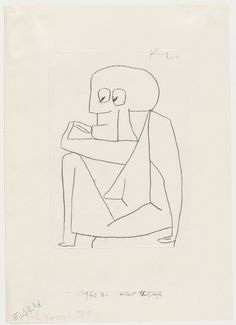 Paul Klee. Ahead of his time, I would recommend any illustrator look into his line work and drawings.