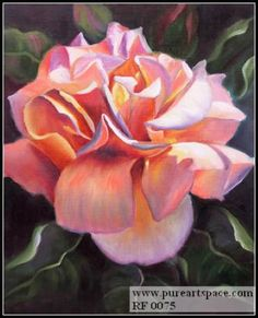 oil painting , realistic flower painting , photo to paintings,still ...