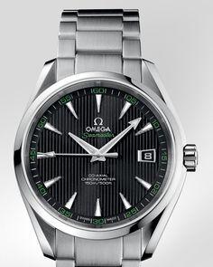 Montres OMEGA : Seamaster Aqua Terra golf 4100€ Chronomètre - Acier sur acier - 231.10.42.21.01.001