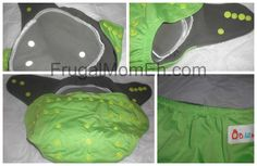Frugal Mom Eh!: Fluff Friday - LilHelper.ca Review and Organic Bamboo Cloth Diaper Giveaway charcoal inner. I want to try!
