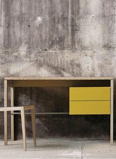 mint | two drawer desk