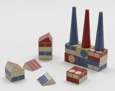 build the town building blocks by ladislav sutnar, designed 1940-43
