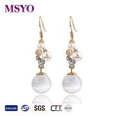 MSYO brand Europe and America pearl earrings wholesale gold earrings designs with price earrings women