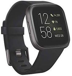 Shop Fitbit Versa 2 Health & Fitness Smartwatch with Voice Control, Sleep Score & Music, Bordeaux, with Alexa built-in. Free delivery and returns on all eligible orders. Fitness Tracker, Smartwatch, Le Wifi, Fitbit App, Sport Armband, Strength Training Equipment, Fitness Watch, Burn Calories, Calories Burned