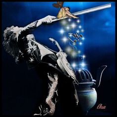 "Jimmy Page ""Fairy Dust"" Photoartist LisaKay Allen/PassionFeast"