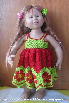 Ручкины штучки от SNata: Платье для Вихтеля Рози