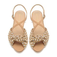 Loeffler Randall Francie Knot Sandals--perfect for making your pedi pop! Cute Shoes, Me Too Shoes, Glass Slipper, Fashion Beauty, Womens Fashion, Look At You, Crazy Shoes, Fashion Shoes, Shoe Boots