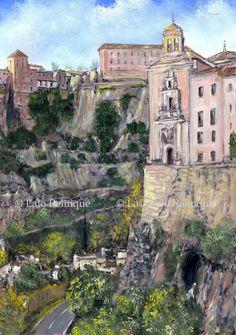 """Lalo Relinque: Apuntes - """"Colección Caprichos de España""""-  """"Cuenca"""".08"""