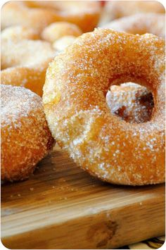 Quick and Easy Doughnuts - Lemon Sugar