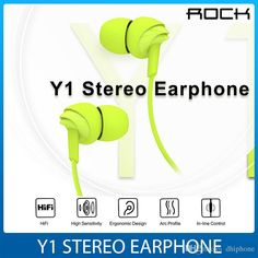 In Ear 10mm Speaker Headphone 3.55mm Plug Stereo Earphone Fashion Sport Running Headsets Studio Music In Line Control & Mic In Retail Box Mobile Phone Earphone Wired Cell Phone Headsets From Dhiphone, $2.52| Dhgate.Com