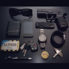 WeLiveForWeapons.com - EDCTools. Keep 'em on you, all the time, Everywhere you can... If you don't have them, get 'em and learn how to safely and effectively use All...d