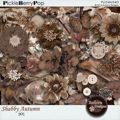 Shabby Autumn By Eudora Designs