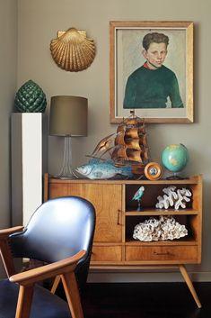 Teak Cabinet   Mid Century Modern #seaside #cottage #midecentury #mcm #nostalgia #teal #ocean #shore #beach