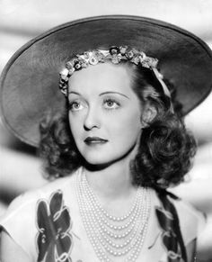 BETTE DAVIS ~ the actress I have probably watched more than any other through the years ~ a legend!