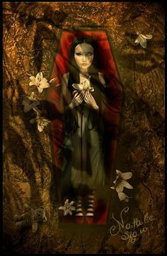 "Reminds me of ""Red as Blood"" by Tanith Lee : Tomb Lilies by Natalie Shau"