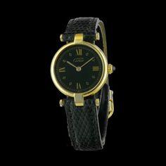CARTIER - Must Vend�me Vermeil, cresus montres de luxe d'occasion, http://www.cresus.fr/montres/montre-occasion-cartier-must_vendome_vermeil,r2,p22344.html