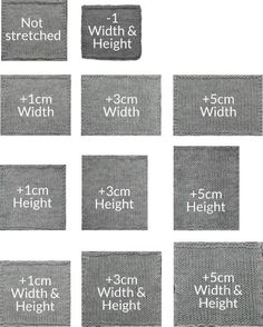 Interesting experiment on how far you can stretch a knitted swatch.