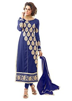 Urban Naari Blue Colored Faux Georgette Women's Suit. - http://www.zazva.com/shop/women/urban-naari-blue-colored-faux-georgette-womens-suit/ Top : Faux Georgette, Bottom : Santoon, Dupatta : Najneen, Inner : Santoon Size – Top : Bust upto : 44″, Top length upto : 46 To 48 Inch , Bottom : 2.50 Mtr, Dupatta : 2.25 Mtr, Inner : 2 Mtr Premium Quality product From Urban Naari. We have a dedicated quality check team, so you receive only the best product that is free fr