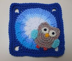 Ravelry: Owl Applique pattern by Janet Carrillo