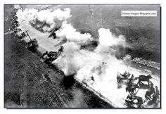 WW2: Downfall: The Gradual Obliteration Of the German Army (1944-45)  -  Russian warplanes attack a German convoy in Belarus, the summer of 1944.