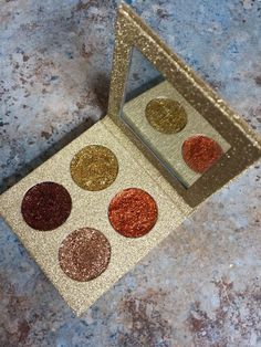Introducing our new Glitter Queen Palette. This palette contains four gorgeously smooth and highly pigmented shades. Foil Eyeshadow, Makeup Eyeshadow, Makeup Goals, Beauty Makeup, Eyeliner Brush, Eye Brows, Cosmetic Grade Glitter, Glitter Fashion, Strobing
