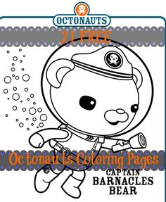 Free: 21 Disney Octonauts Coloring Pages for a Quick Summer Activity! Free printable Octonauts coloring pages for kids. Craft Activities For Kids, Projects For Kids, Crafts For Kids, Craft Ideas, Diy Ideas, Diy Projects, 4th Birthday Parties, Boy Birthday, Birthday Ideas