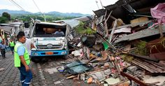 My thoughts go out to the people of Ecuador after the 7.8 earthquake that hit the coast on 4/16/16. http://www.nytimes.com/2016/04/18/world/americas/ecuador-earthquake-deaths.html?hp&action=click&pgtype=Homepage&clickSource=story-heading&module=first-column-region&region=top-news&WT.nav=top-news&_r=1