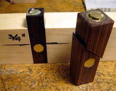 Lockable Bench Dogs - by ChrisinOttawa @ LumberJocks.com ~ woodworking community